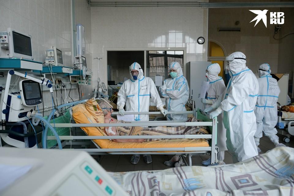 """Журналисты """"КП"""" побывали в красной зоне больницы"""
