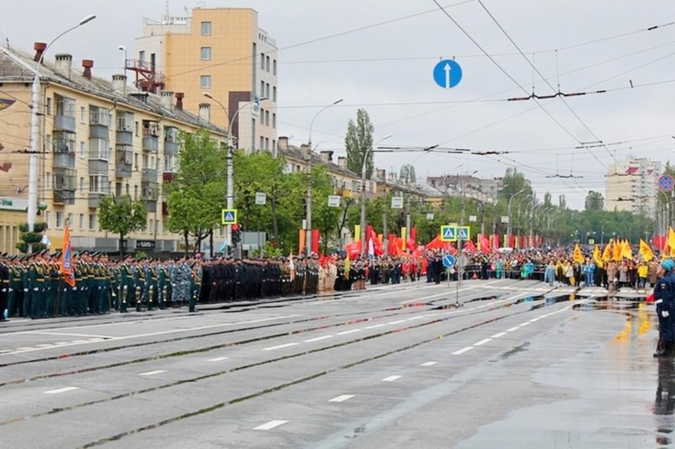В Липецке пройдет парад Победы, который перенесли из-за коронавируса