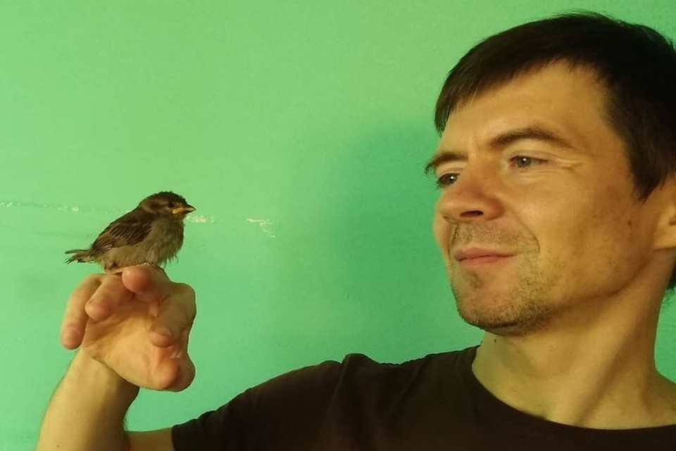 Птюц и его хозяин Ростислав. Фото: instagram.com