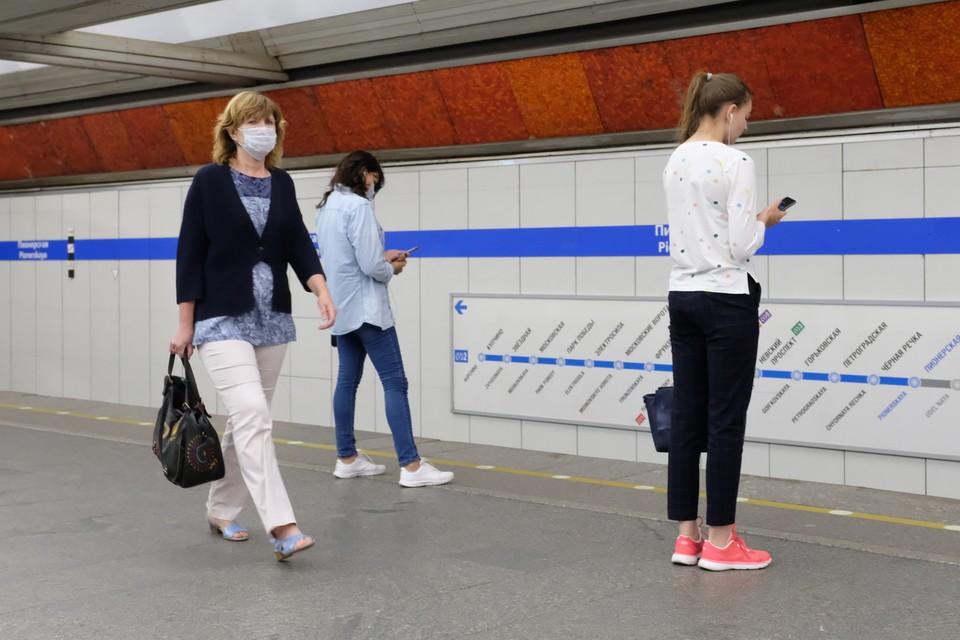 24 июня 2020 года метро Петербурга будет работать по обычному графику