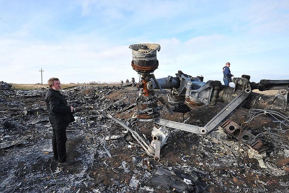 Доказательством запуска ракеты ЗРК «Бук» в самолет стала склеенная запись телефонных переговоров подозреваемых.