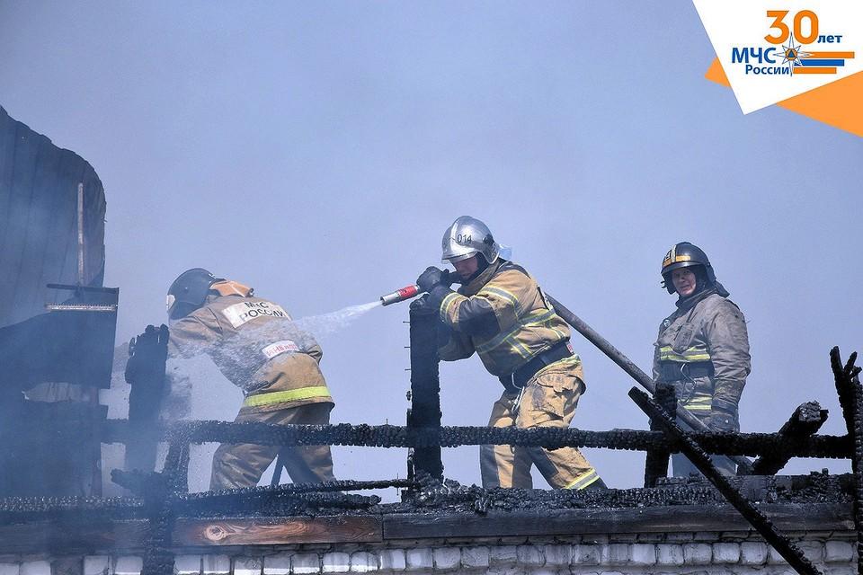 В Тюменской области за минувшую неделю произошел 59 пожаров. Фото - ГУ МЧС по Тюменской области.