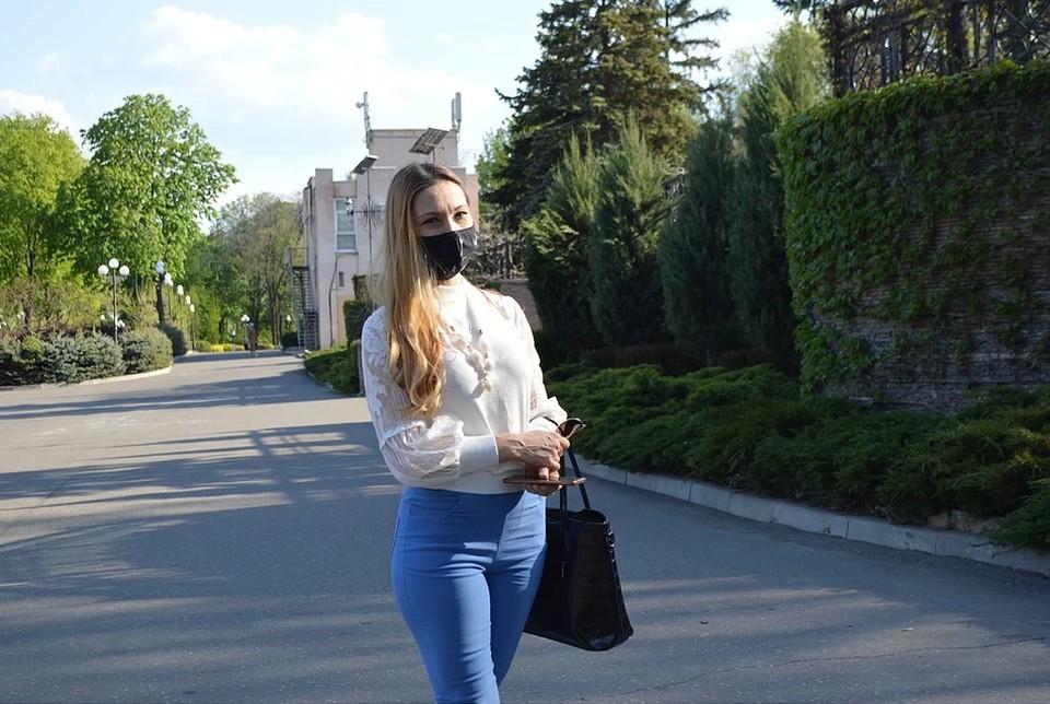 Ношение маски защищает от заражения