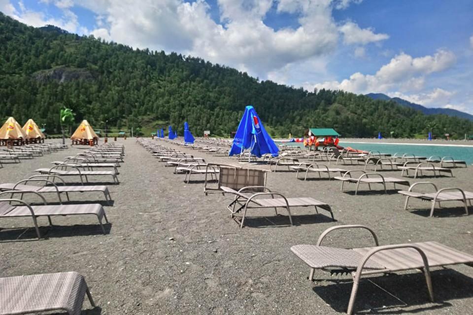 Пляжи в Республике Алтай открываются
