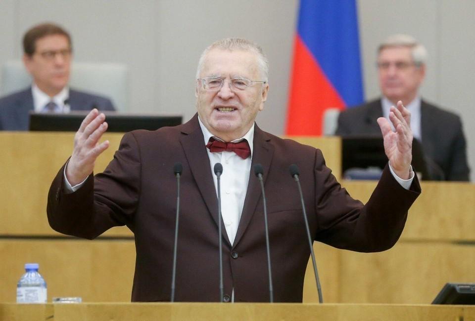 Владимир Жириновский заявил, что ЛДПР может сложить полномочия в полном составе в знак протеста против задержания Сергея Фургала