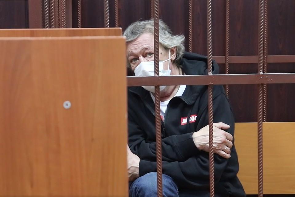 Суд над Михаилом Ефремовым все ближе