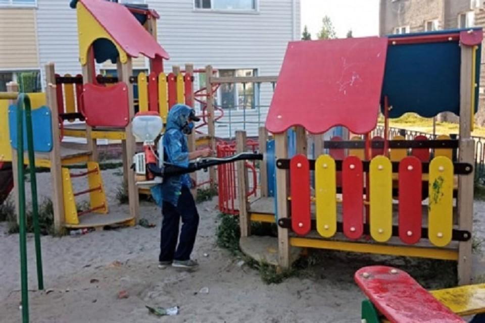 На детских площадках Ханты-Мансийска для профилактики коронавируса устанавливают камеры