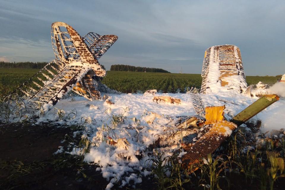При крушении Ан-2 погиб один человек