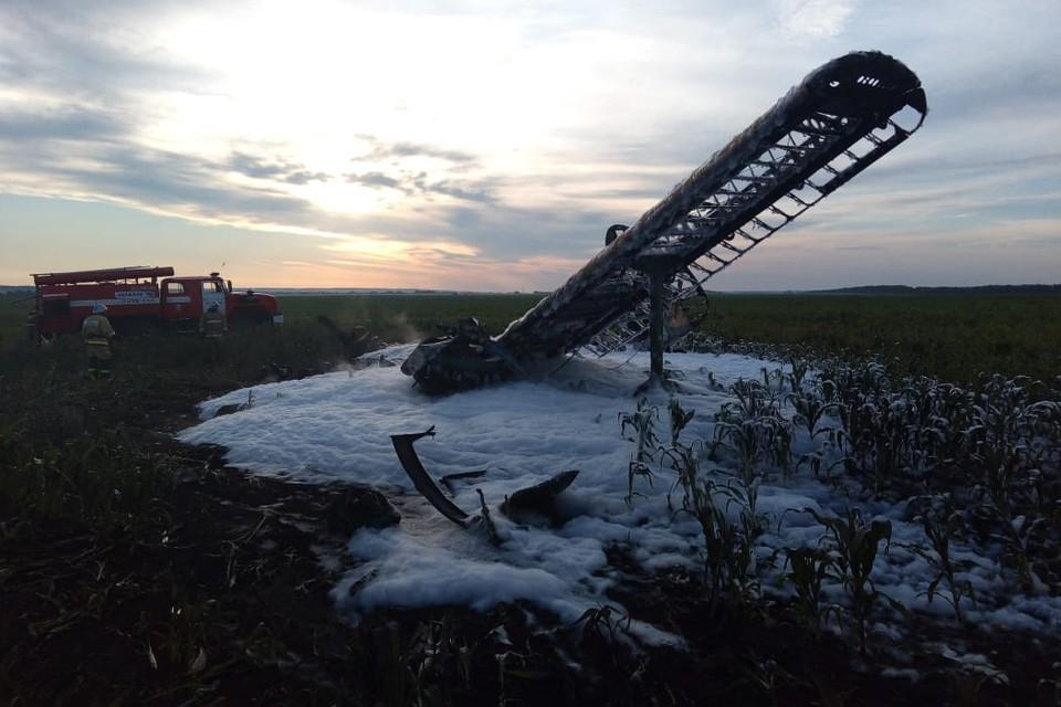 Воздушное судно потерпело крушение рано утром 13 июля 2020 года