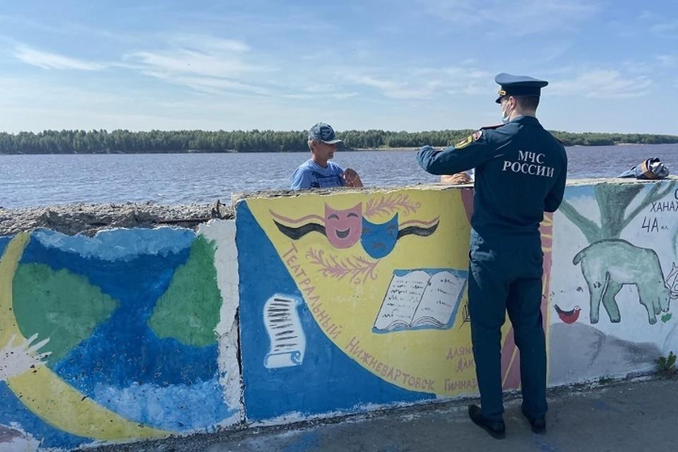 В Нижневартовске по-прежнему не открыли ни одного пляжа. Фото администрации города.