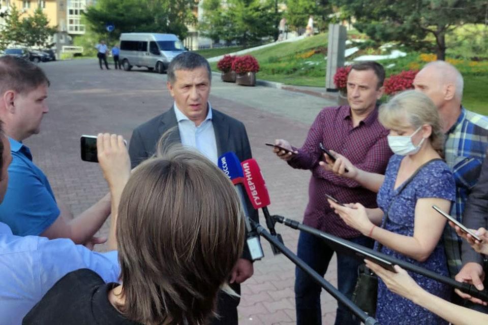 Трутнев считает, что работа руководства Хабаровского края организована плохо