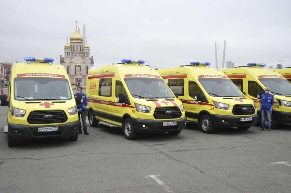 Машины отечественного производства пришли в автопарки станций скорой помощи края