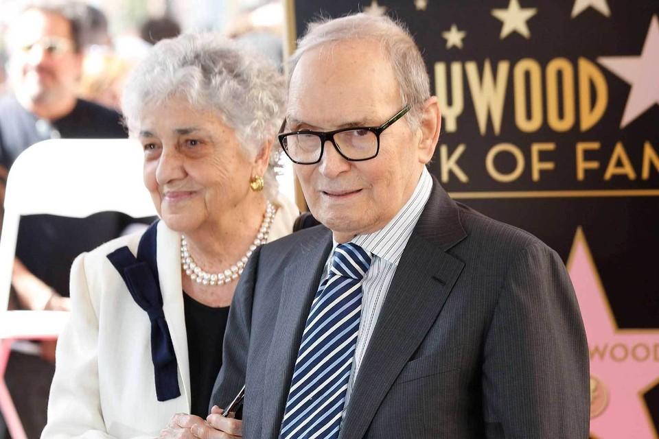 С женой Марией Морриконе прожил 64 года.