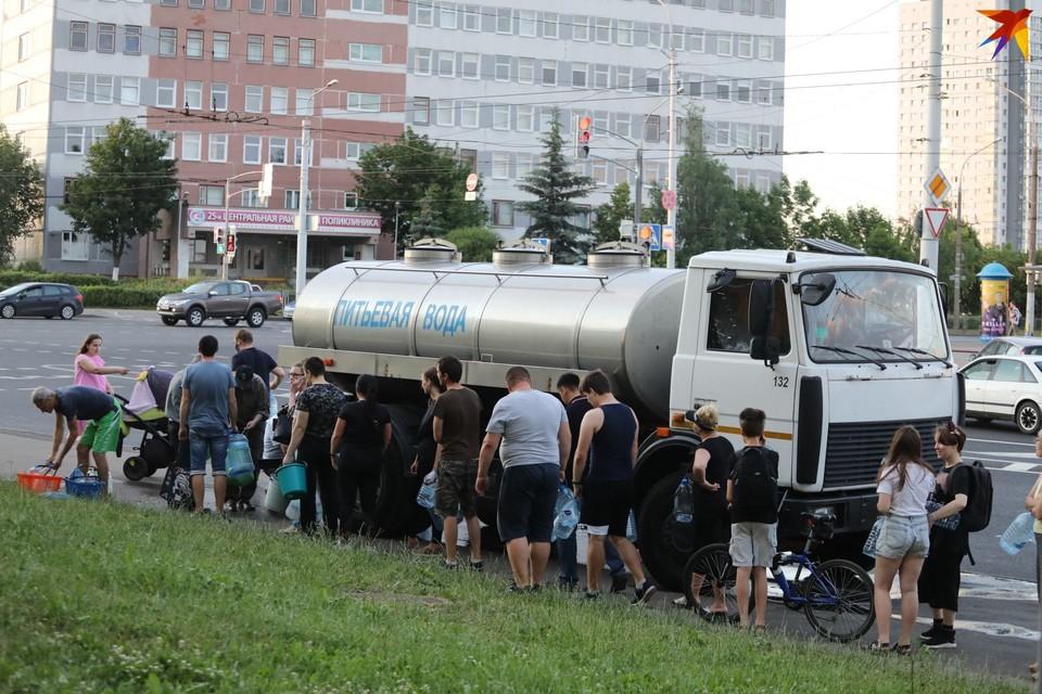 Что стало с водой в Минске - до сих пор наверняка не известно.