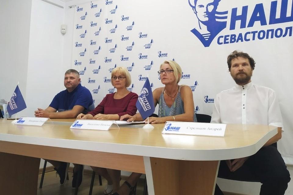 Сотрудники центра провели пресс-конференцию
