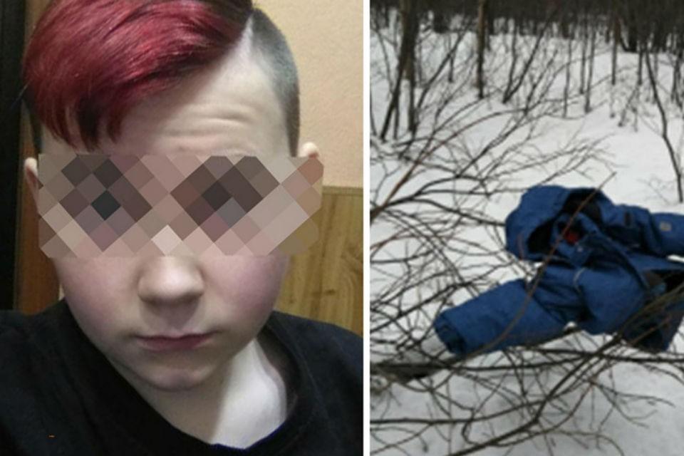 15-летний Денис придушил 10-летнего Витю, а когда тот потерял сознание, закопал в снег. Фото: СКР по Мурманской области