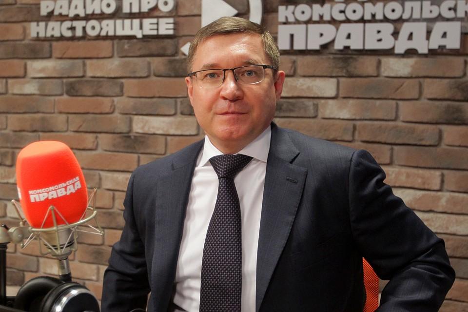 """Владимир Якушев в студии Радио """"КП"""""""