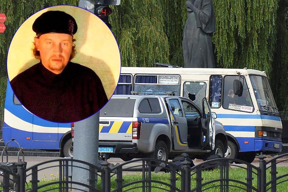 Неизвестный с оружием и взрывчаткой захватил автобус в Луцке