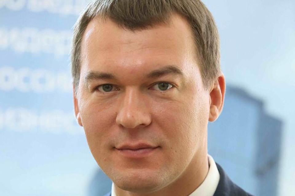 Врио губернатора Хабаровского края Михаил Дегтярев.