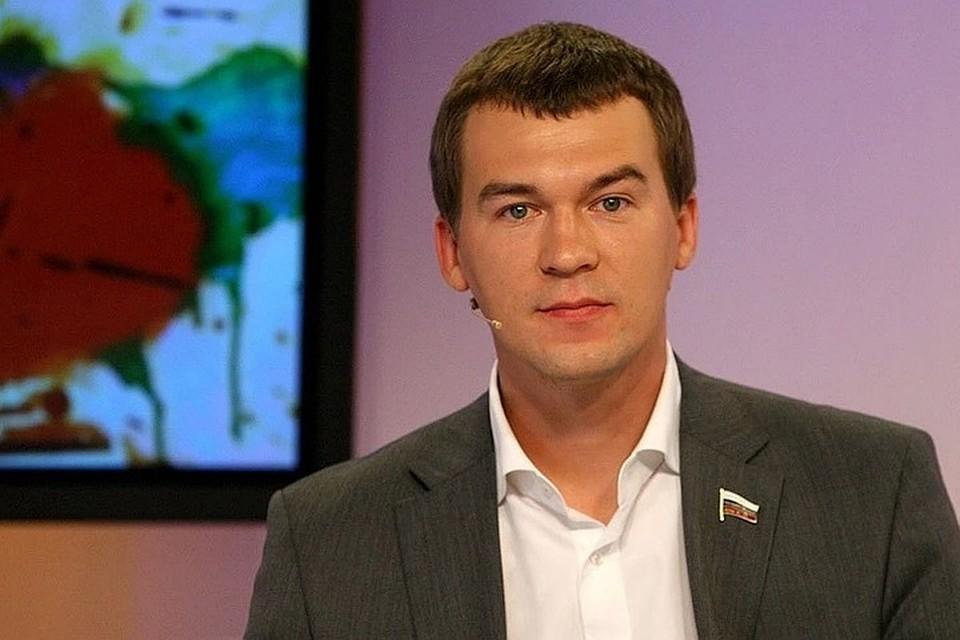 Михаил Дегтярев в студии Радио «Комсомольская правда».