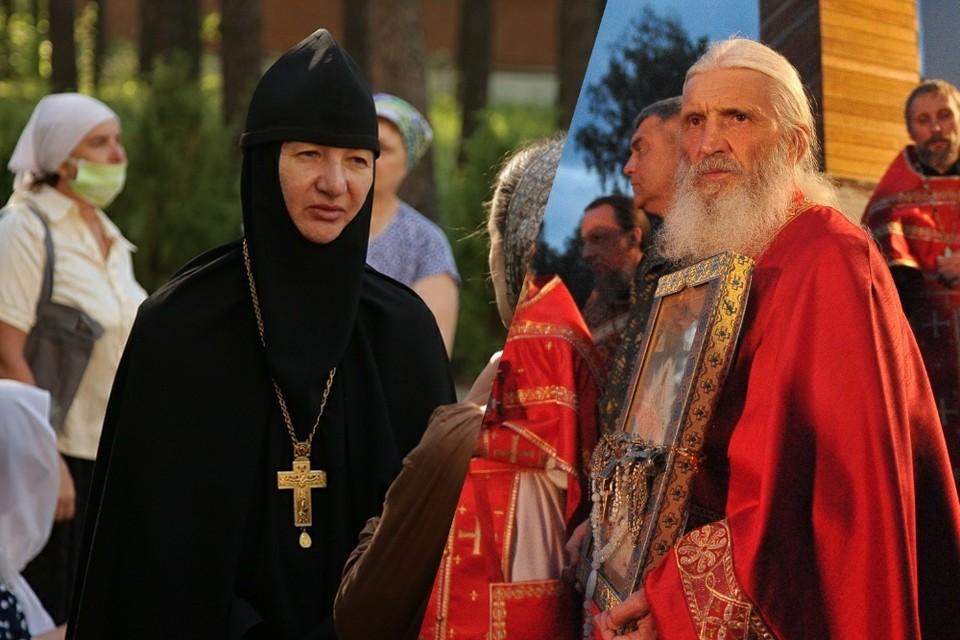 Игуменья Варвара и отец Сергий вместе служили в церкви 18 лет. Фото: Алексей БУЛАТОВ/Екатеринбургская епархия
