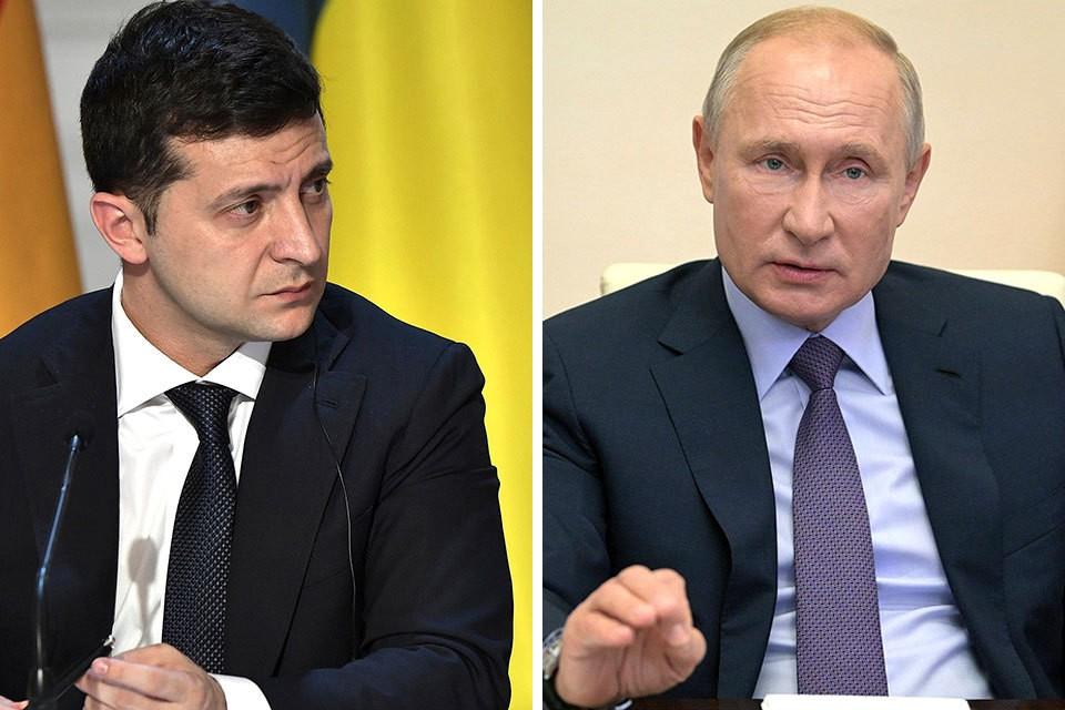 Между Владимиром Путиным и Владимиром Зеленским состоялся телефонный разговор.