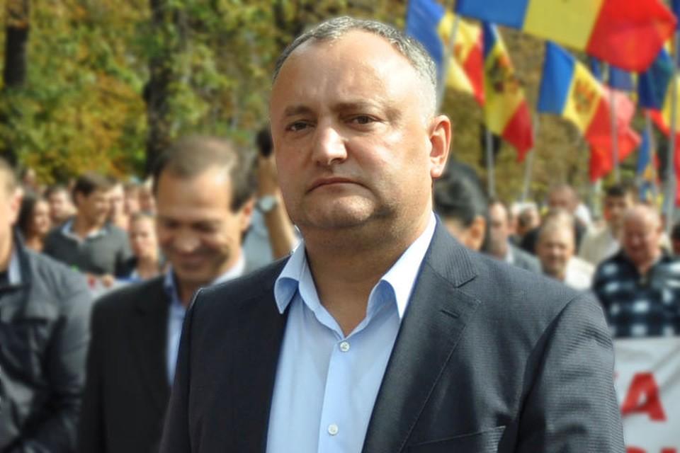 Игорь Додон пользуется наибольшим доверием у граждан Молдовы.