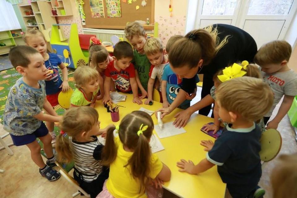 Детские сады начнут работать в прежнем режиме с 17 августа.