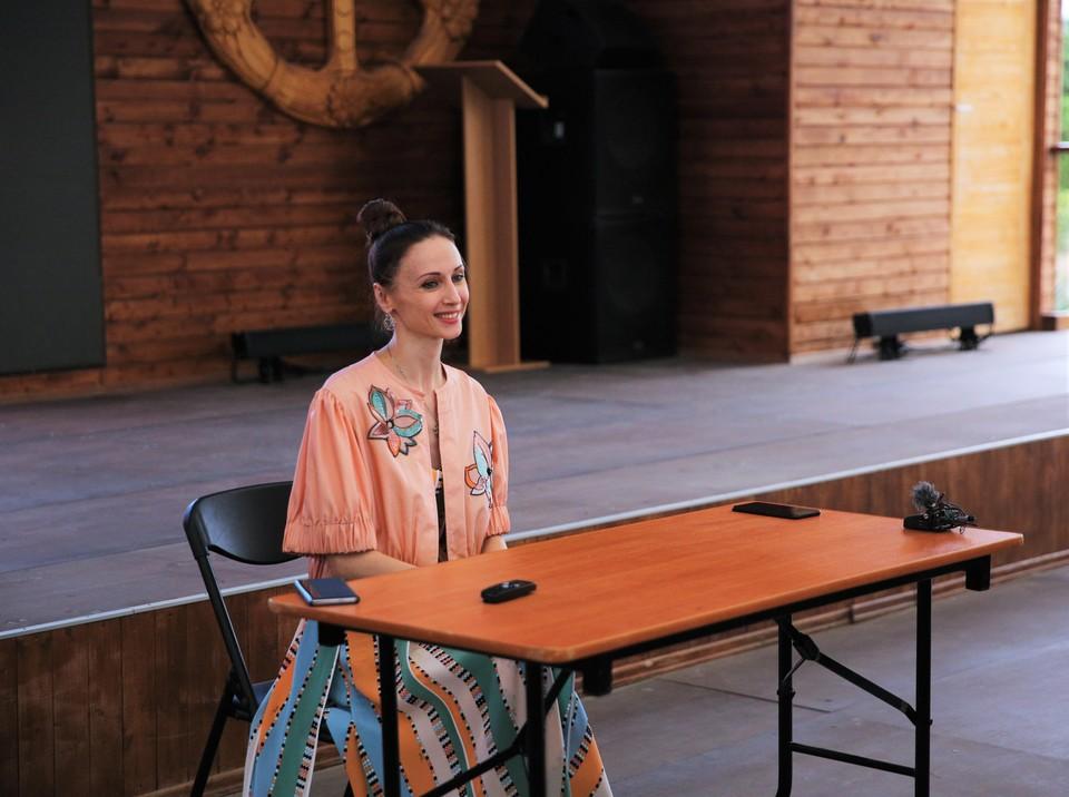 """Светлана Захарова рассказала о спектакле """"Кармен"""" перед премьерой в Херсонесе"""