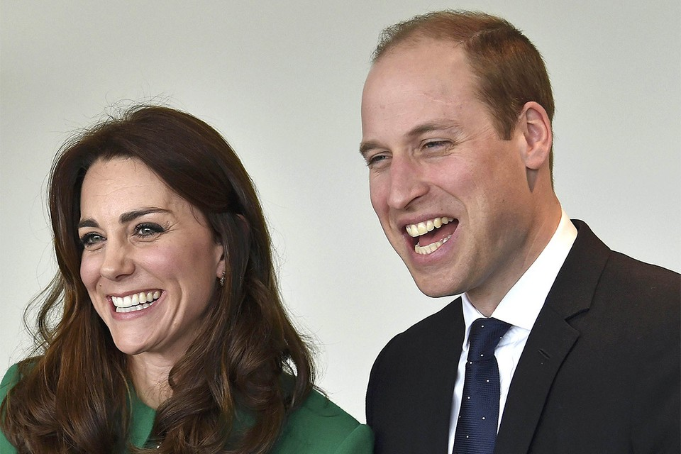 Принц Уильям c cупругой Кейт.