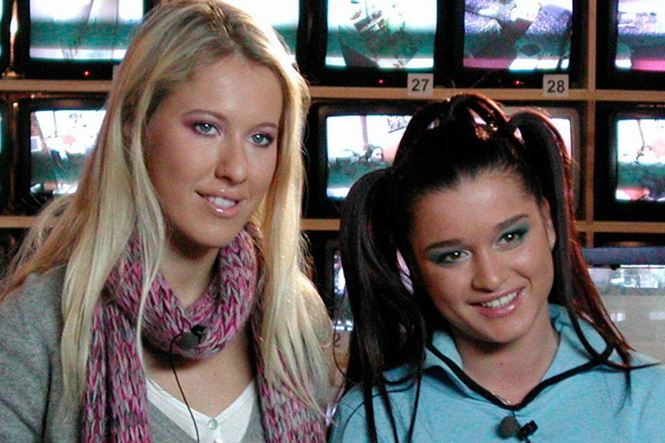 Собчак и Бородина — первые ведущие на «Доме-2».