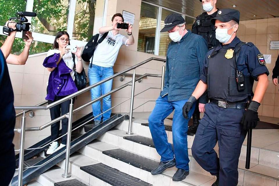 Процесс по делу Ефремова стартовал сегодня в Пресненском суде