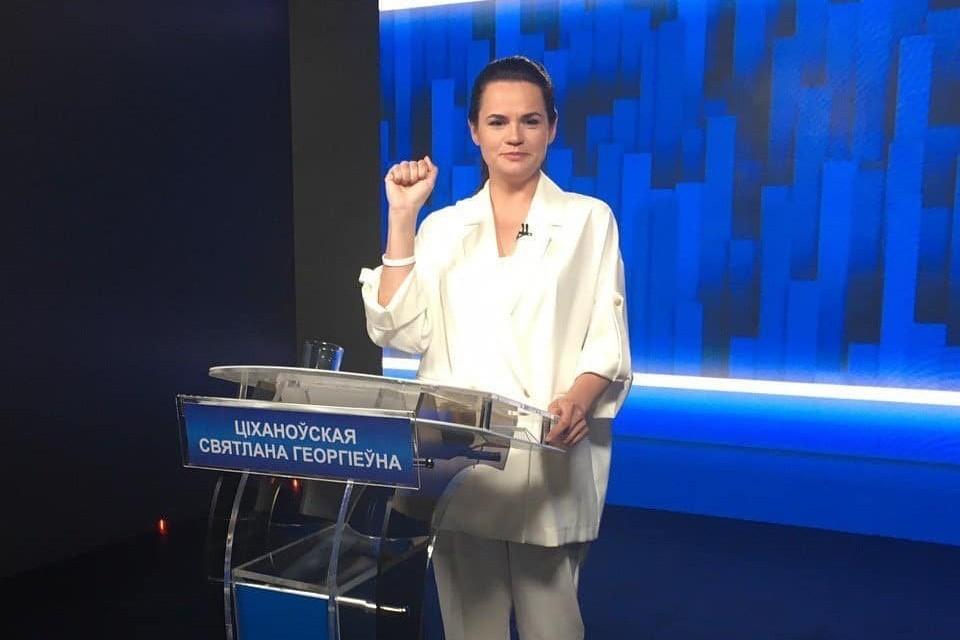 Светлана Тихановская не изменяет белому цвету. Фото: instagram / stranadlyazhizni