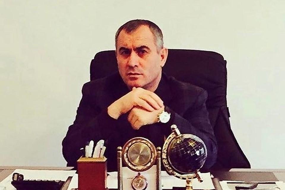 Хасан Полонкоев на рабочем месте