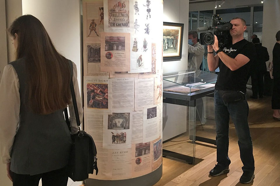 В Москве открылась выставка Александра Бенуа