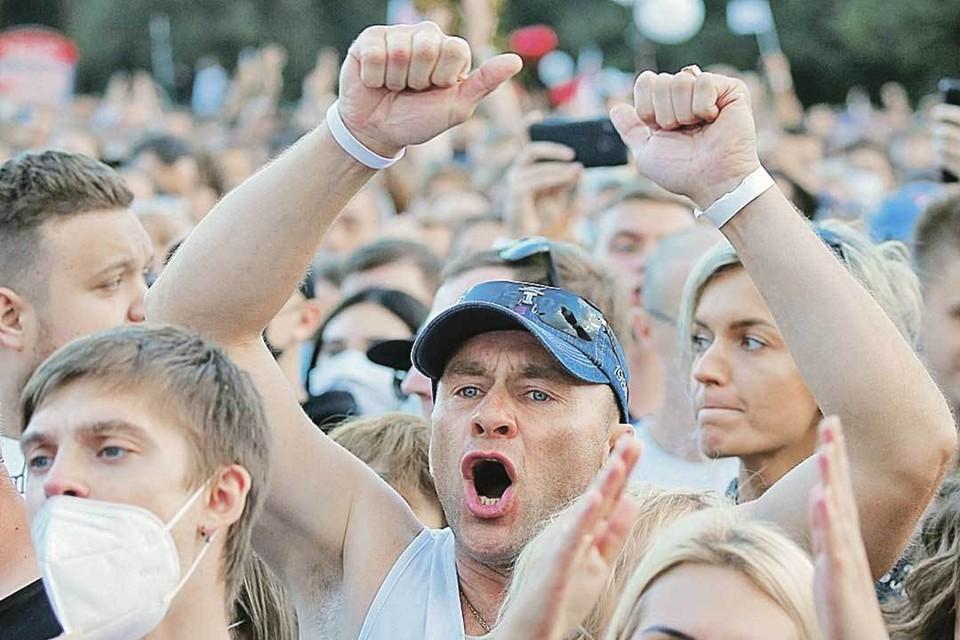 Вопрос дня: Чем разрешится ситуация в Белоруссии? Фото: Vasily Fedosenko/REUTERS