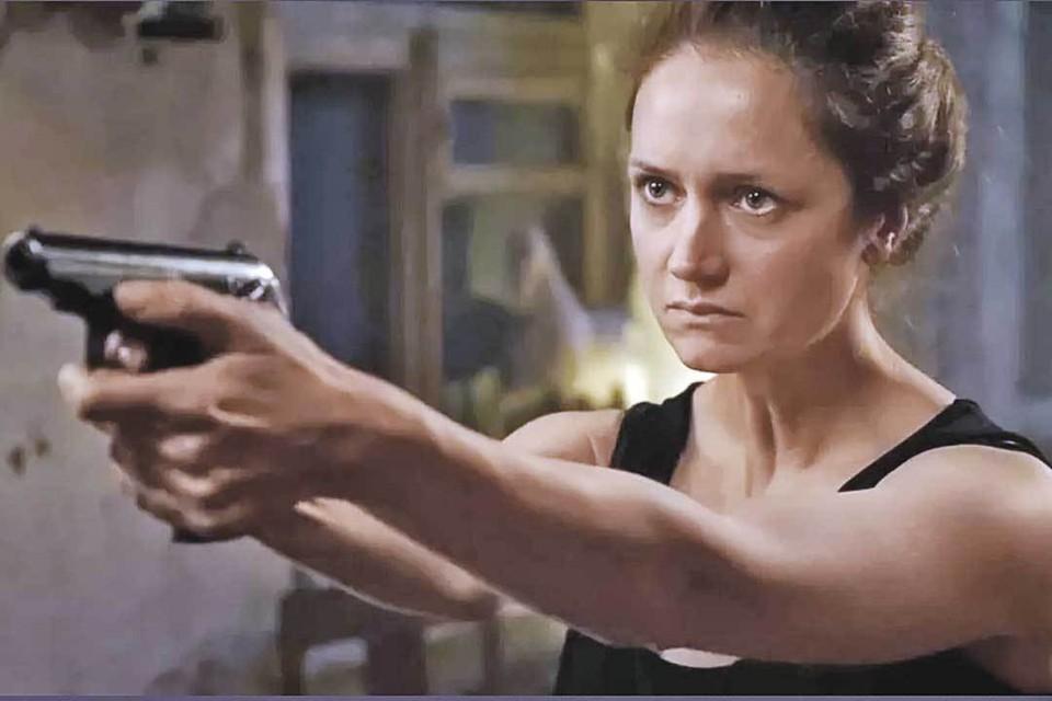 Виктория Исакова в сериале «Надежда». Кадр из фильма.