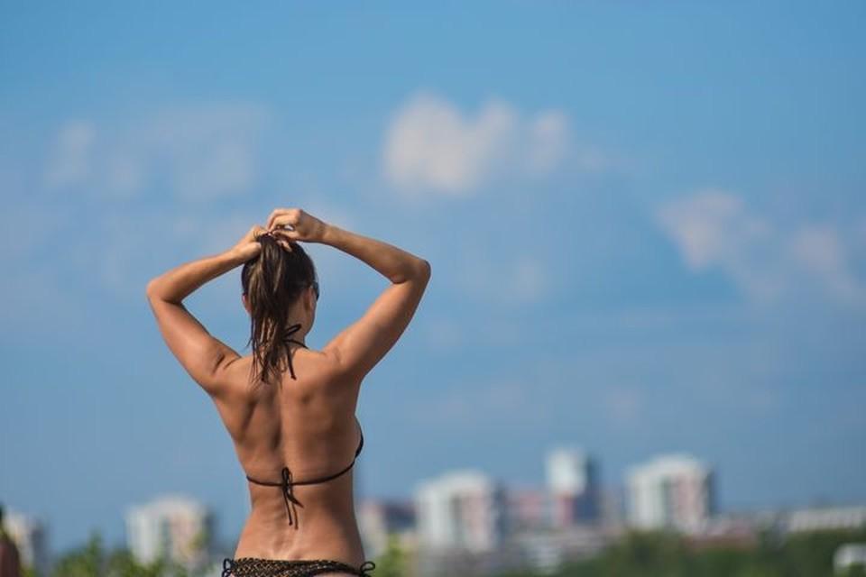 В Новосибирск снова пришла аномальная жара.