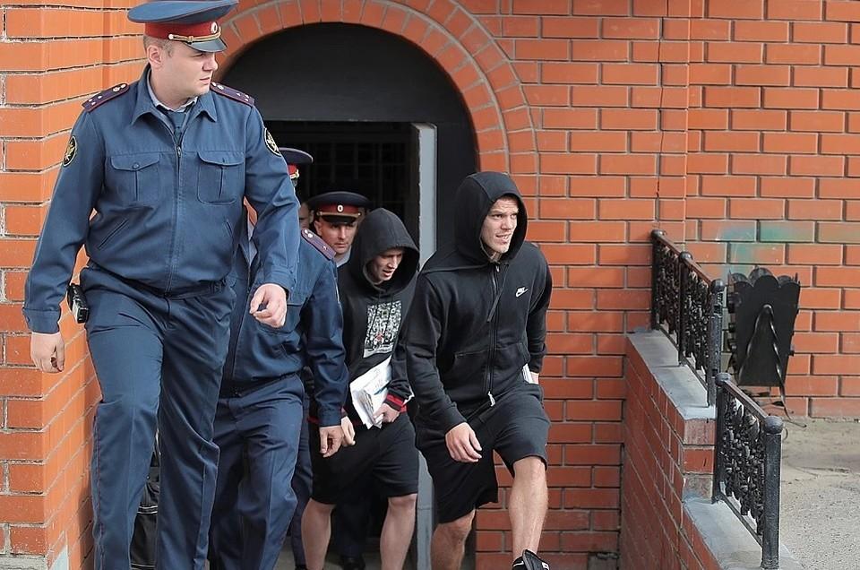 В сентябре футболисты вышли на свободу по УДО