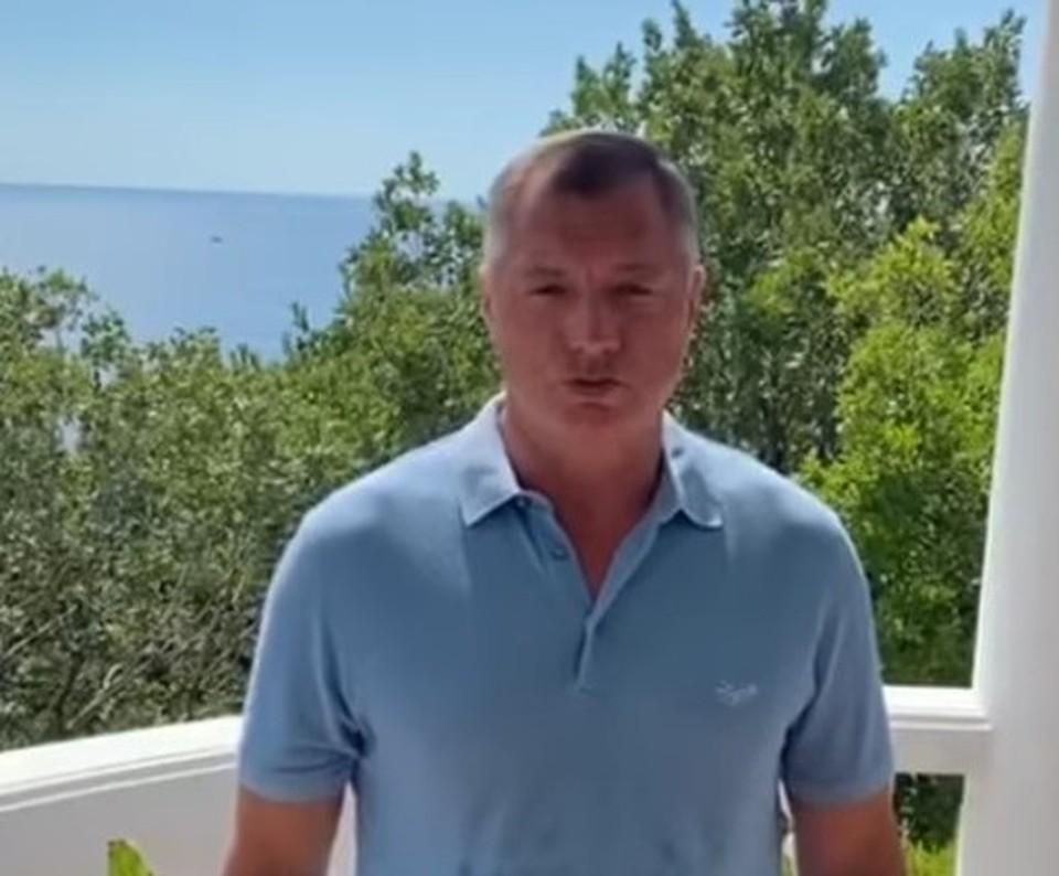 Вице-премьер Марат Хуснуллин решил провести отпуск в Крыму. Фото: Марат Хуснуллин / Instagram