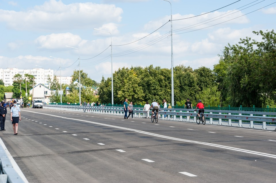 По мосту «Дружба» в Орле вновь пустят общественный транспорт