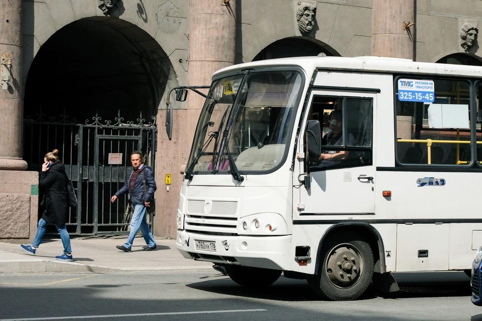 В Петербурге вернутся к работе отмененные маршрутки.