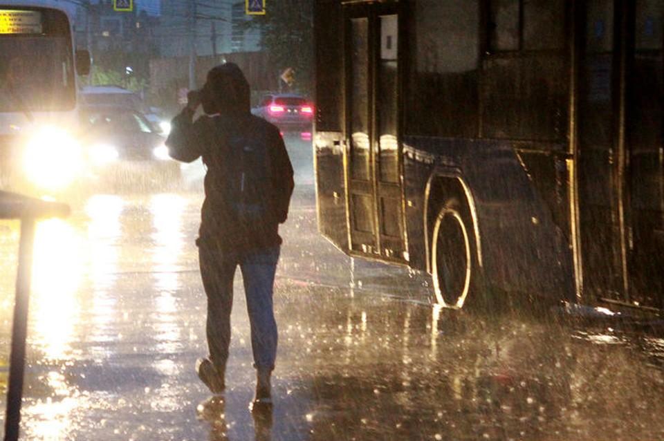 МЧС: сильные дожди пройдут 8 августа в Иркутской области