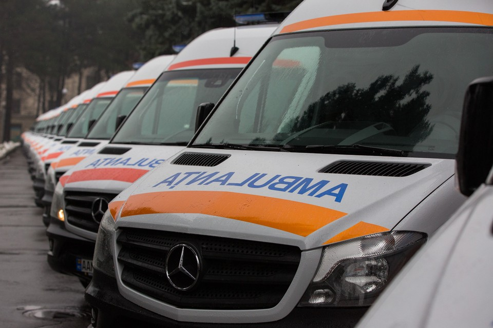 Скорая помощь в Молдове. Фото: gov.md