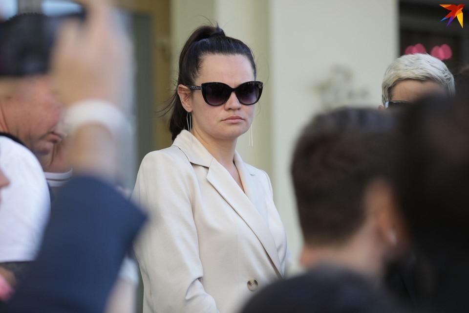 В присутствии Светланы Тихановской 8 августа задержали начальника штаба кандидата.