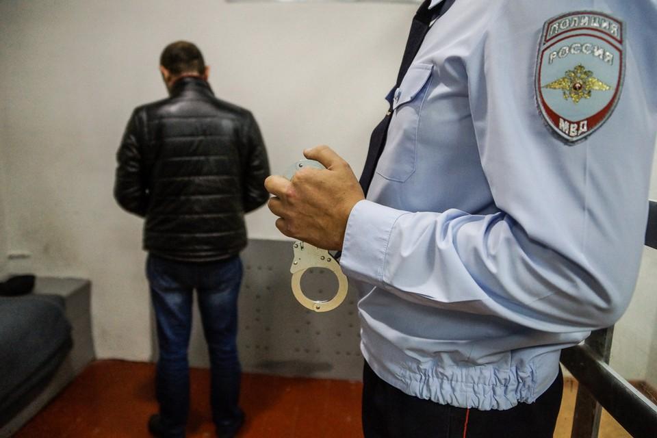 Преступник был задержан полицией