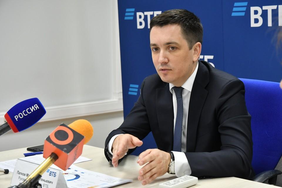 Управляющий ВТБ в Самарской области Максим Папков