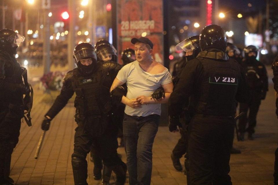 Протесты в Минске начались 9 августа