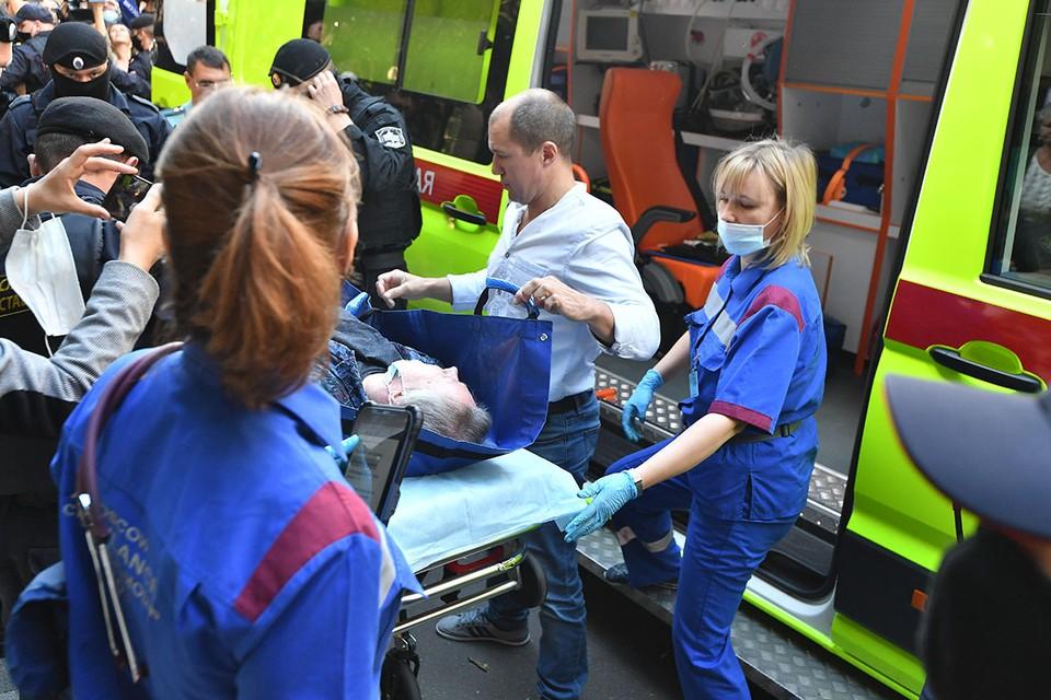 Актера отправили домой спустя четверо суток в больнице