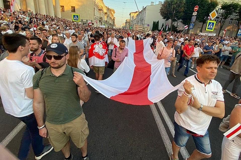 В Минске продолжаются протесты
